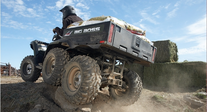 SPORTSMAN 800 BIG BOSS 6X6 FOREST