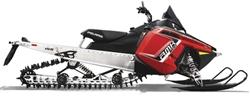 Снегоход 600 RMK 155 red/black