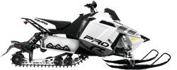 Снегоход 800 RUSH Pro-R white/grey