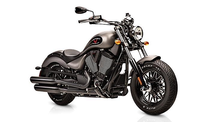 На недавно прошедшем мероприятии в Чикаго компания Victory представила свой абсолютно новый мотоцикл-крузер в боббер-стиле