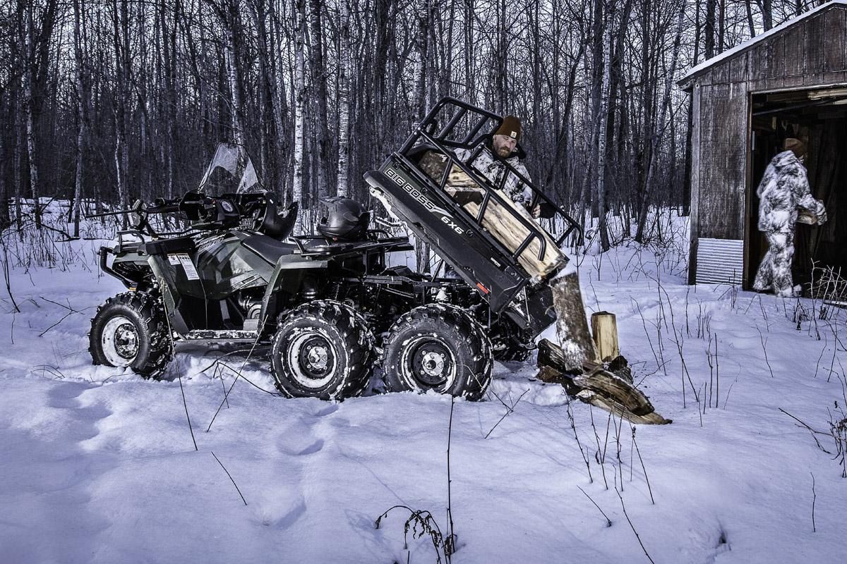 Квадроцикл Polaris Sportsman Big Boss