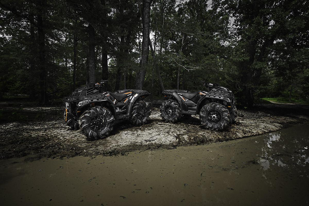 Квадроцикл Polaris Sportsman High Lifter