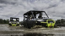 RANGER XP® 1000 High Lifter Edition CREW Black with Lime Squeeze Accents