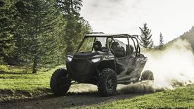 RZR XP® 4 Turbo Stealth Black