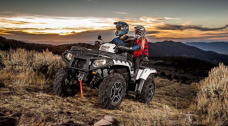 Sportsman Touring XP 1000 Premium - Pearl White  ATV