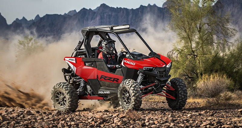 RZR 64 RS1 1000 - Indy Red  RZR