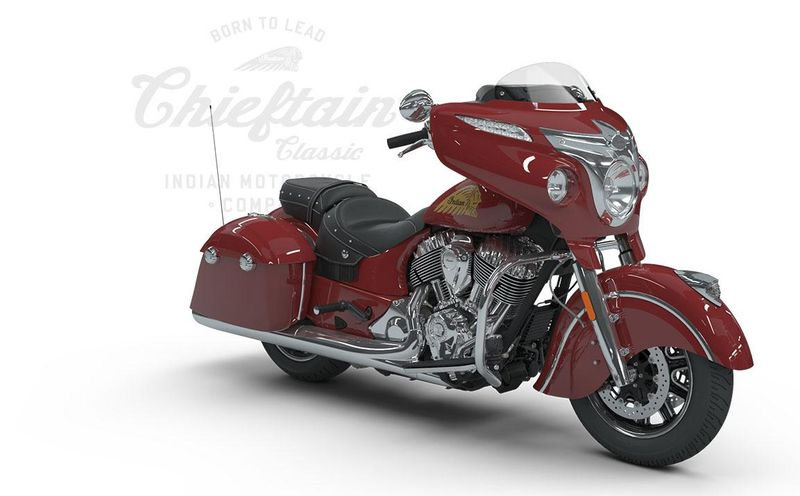 Chieftain Classic, Indian Motorcycle Red
