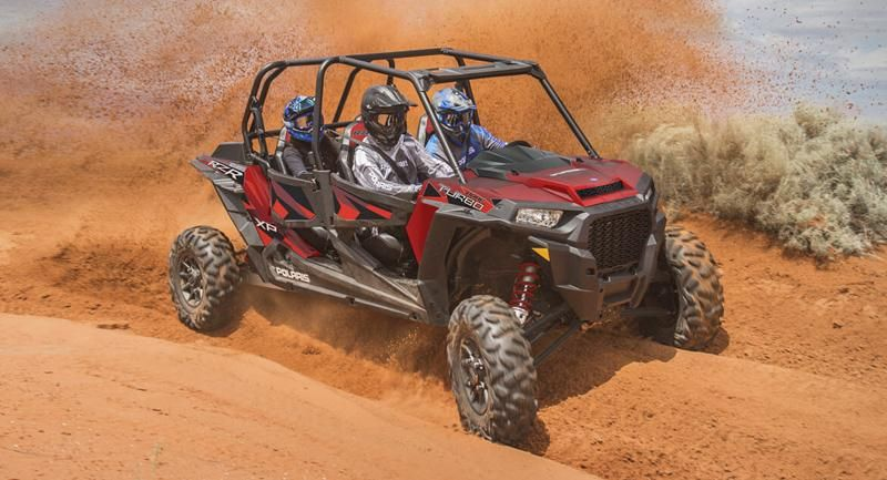 Мотовездеход RZR XP 4 Turbo EPS Fox Edition