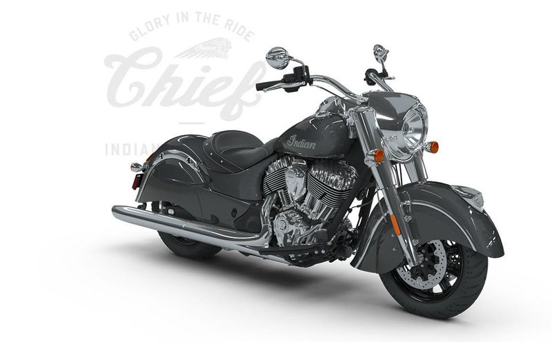 Мотоцикл Indian Chief, Steel Gray