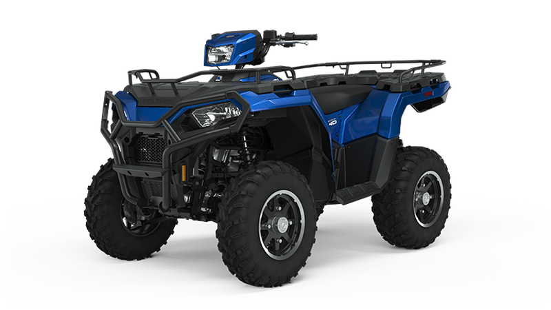 Sportsman 570 EPS Premium - Radar Blue (US spec) ATV