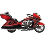 Купить мотоцикл Victory ANSS Vision Tour Red Metallic with Ness Graphics со скидкой 184 000 руб.